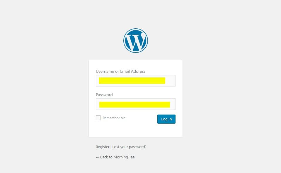 how to change url of wordpress website